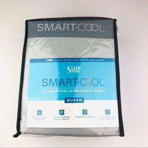 Smart Cool Gray Queen Sheet Set Wicking Ab…